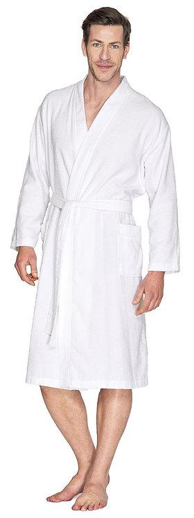 Unisex Kimono aus 100 % Baumwolle in  marine bis Gr. 64