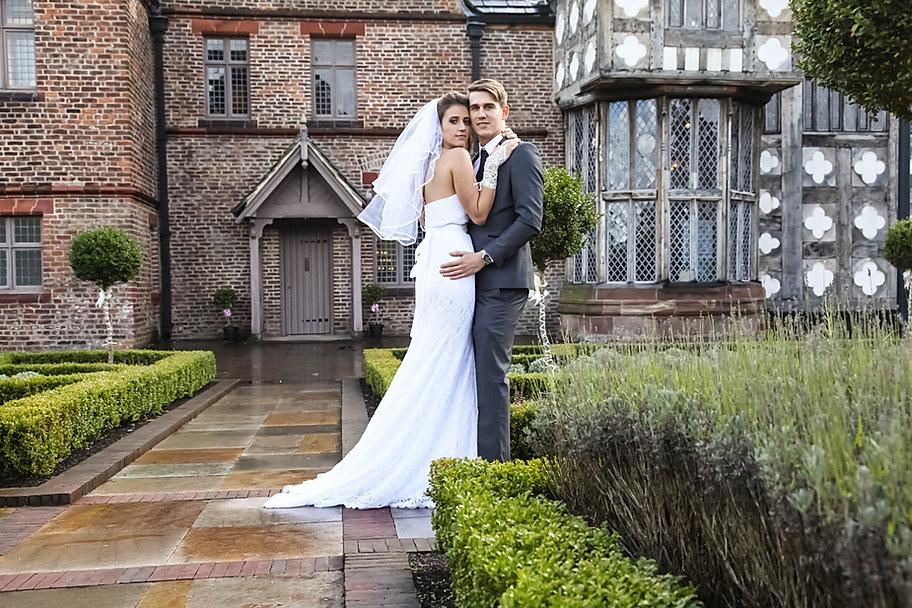 Kathrin and Ryan wedding at Ordsall Hall
