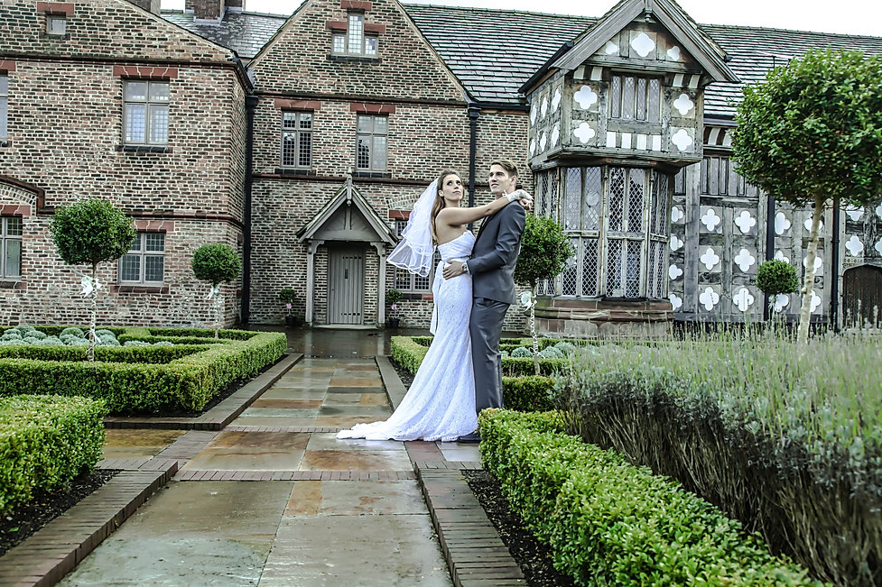 Wedding Kathrin and Ryan at Ordsall Hall
