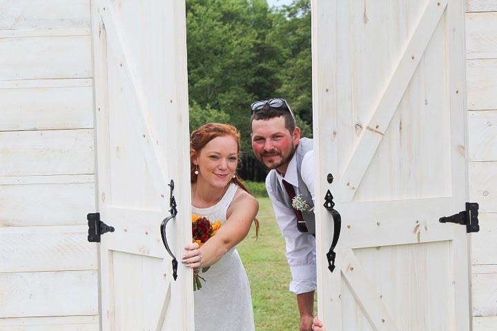 Wedding Barn Door Entryways