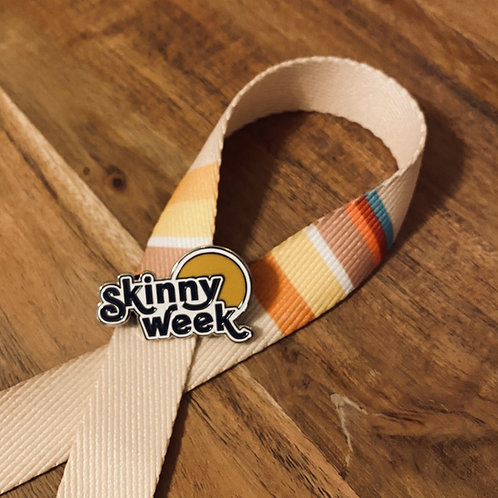 SkinnyWeek Pin