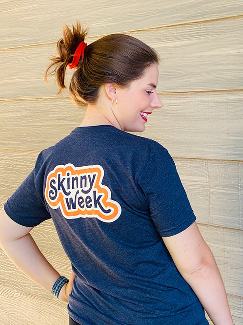 SkinnyWeek Navy Tee