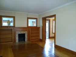 View of house entry from living room