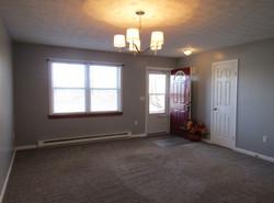 Living room entry & closet