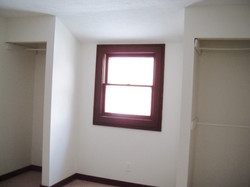 One bedroom at rear of house.