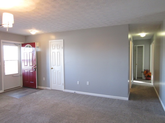 Living room hall to bedrooms