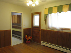 REC ROOM WITH REAR ENTRY