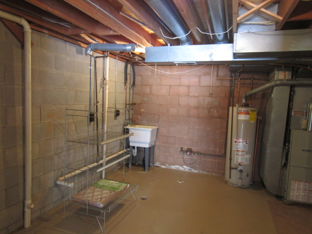 Utility room across from rec room.