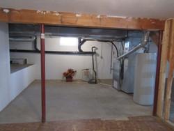 Basement utilities