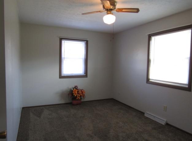 North bedroom has replacement windows.