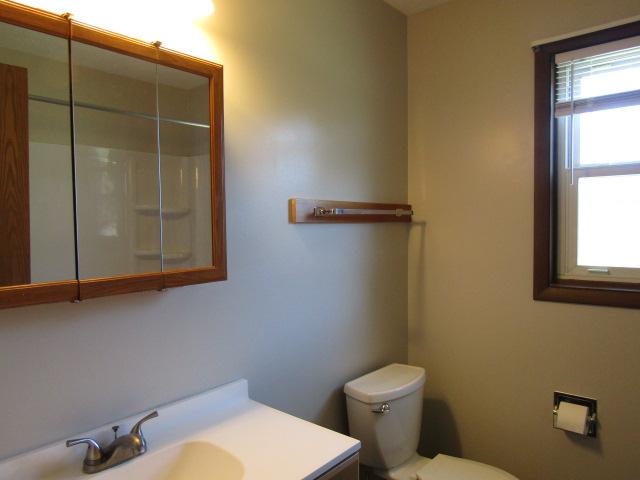 Bathroom updated.
