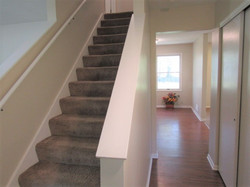 Stairs and 1st floor hallway
