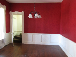 Dining room off side entry.