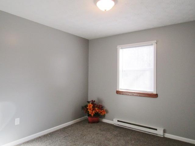 Bedroom end window view