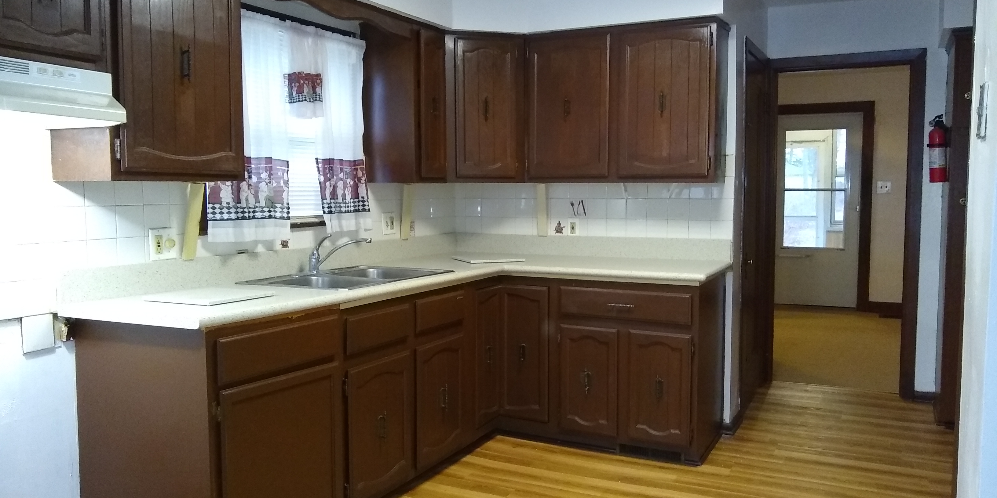 Kitchen with new countertop!