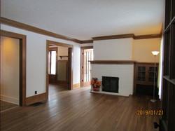 Living room doorways