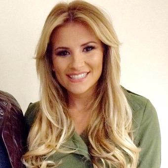 Georgia TOWIE hair and makeup