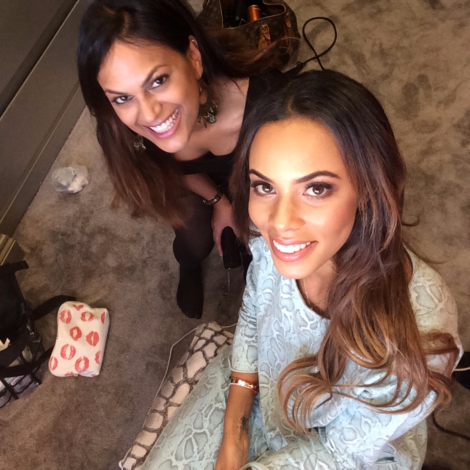 Makeup for Rochelle Humes - Singer