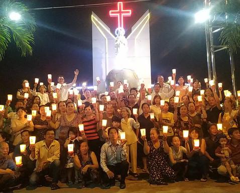 Giáo dân vườn rau Lộc Hưng