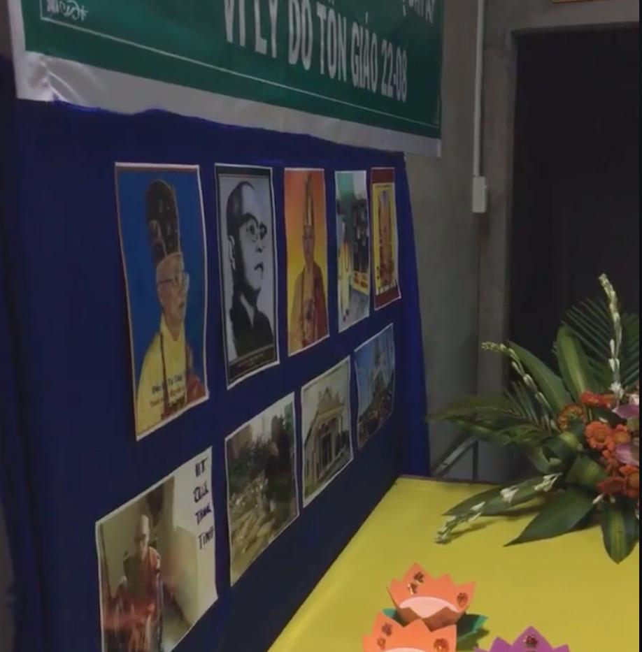 Ngày Quốc Tế tưởng niệm nạn nhân bị đàn áp vì lý do tôn giáo 22-8 Tại chùa Pháp Biên