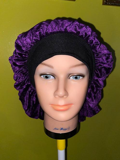 Urban Royal Purple Velvet Bonnet