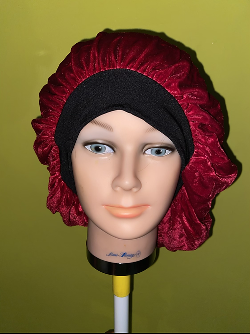 Urban Red Velvet Bonnet