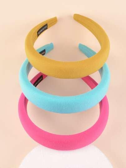 Neon Plain Fashion Headband