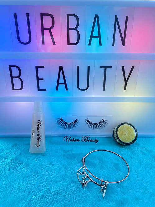 The Natural Urban Beauty Kit (INCLUDES LIP SCRUB)