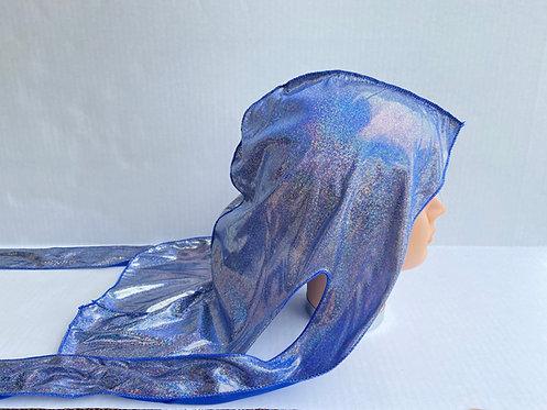 Royal Blue Metallic Durag
