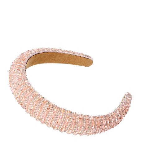 Light Pink Blinged-Out Headband