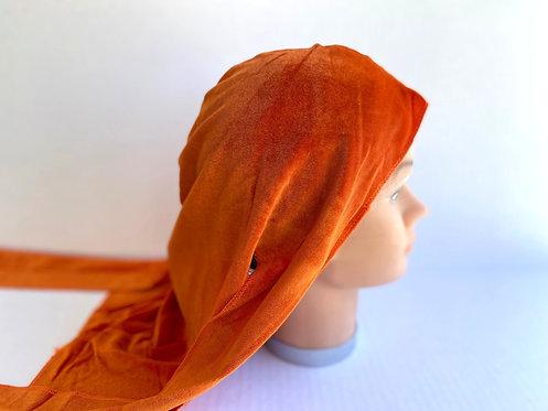 Orange Velvet Durag