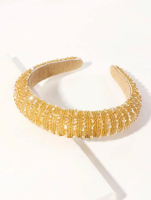 Gold Blinged-Out Headband