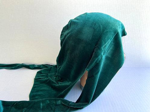 Emerald Green Velvet Durag