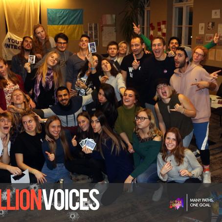"""Erasmus+ YE """"A Million Voices"""""""