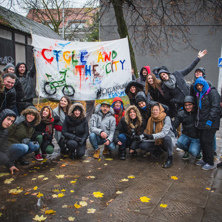 "Erasmus+ YE: ""Cycle the City"" Lithuania"