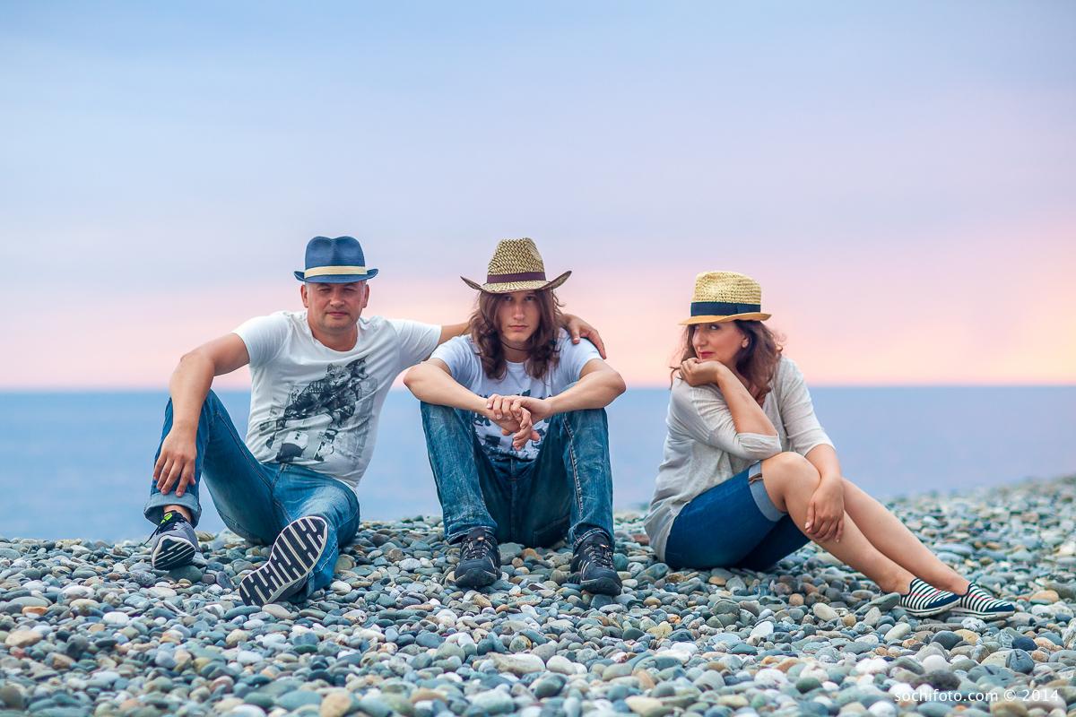 пляжная фотосессия