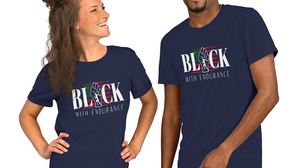 Black With Endurance Classic Tee