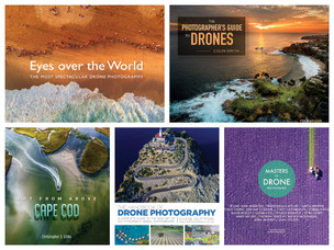 5 drone photography books to read for inspiration and great ideas