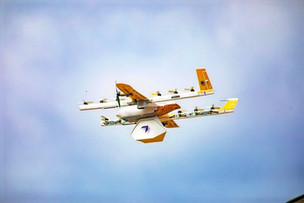 Drones deliver books to kids stuck at home because of COVID-19
