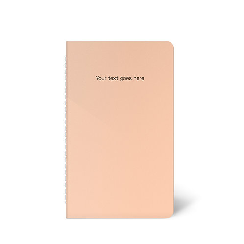 Personalised Pastel Notebook