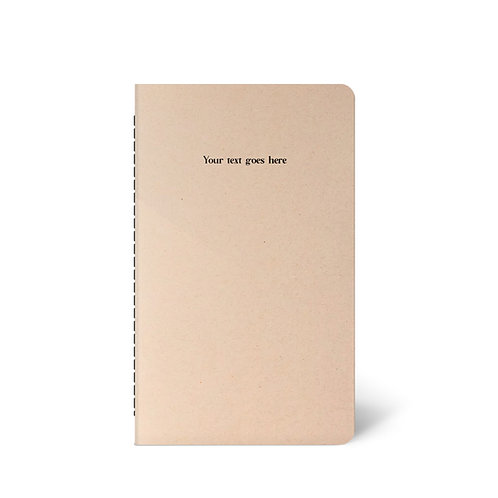 Personalised Kraft Notebook