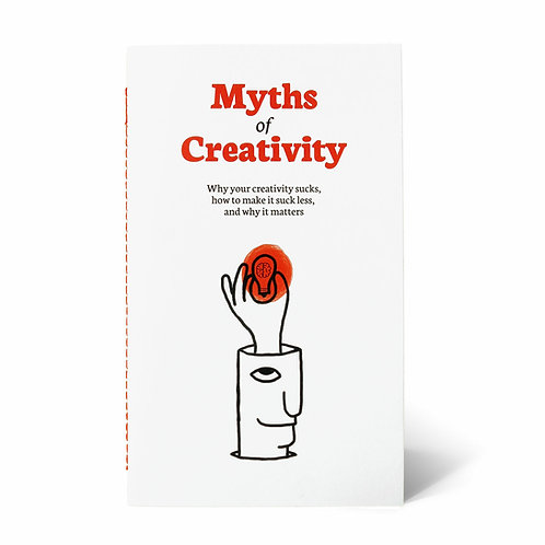 Myths of Creativity Zine