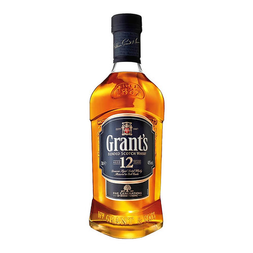 Уиски Grant's 12 Year Old/ Грантс 12 г.