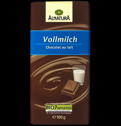 BIO/Organic шоколад Alnatura 100гр