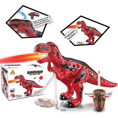Динозавър с проектор и ДУ
