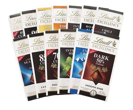 Шоколад Lindt Екселенс (различни видове)