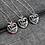 Thumbnail: Kолие с висулка сърце / кристали - Mom / Мама в луксозна кутийка