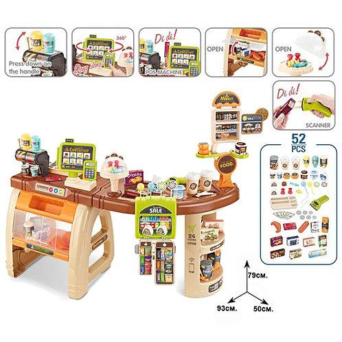 Супермаркет с продукти и аксесоари