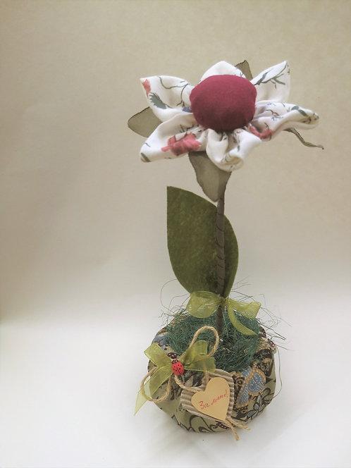 Ръчно изработено цвете (голямо)