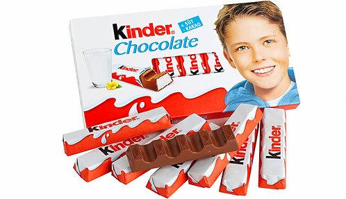 Шоколадчета KINDER 8бр 100гр